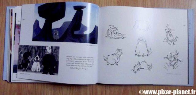 art of up Livre Disney Pixar Book