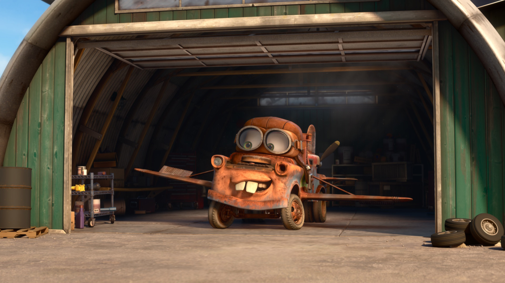 Pixar disney cars toon air martin mater