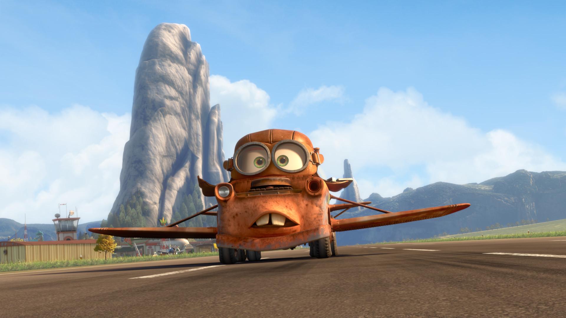 Pixar disney cars toon air martin mater