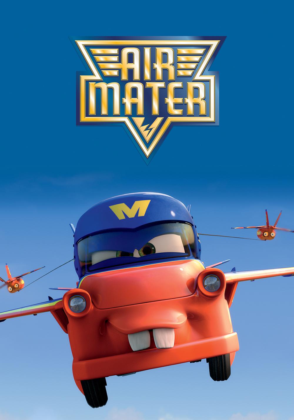 Pixar disney cars toon air martin mater affiche poster
