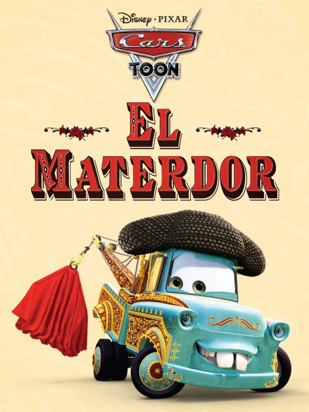 Pixar disney cars toon el martindor materdor affiche poster