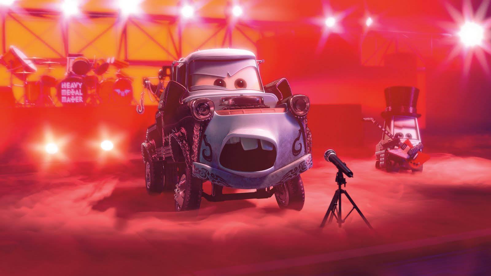 Pixar disney cars toon heavy metal martin mater