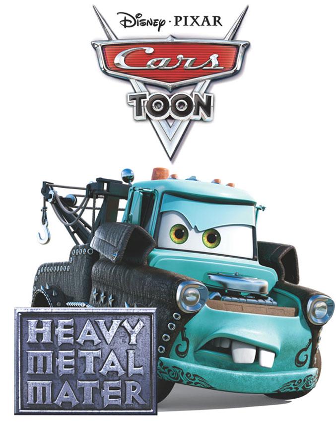Pixar disney cars toon heavy metal martin mater affiche poster