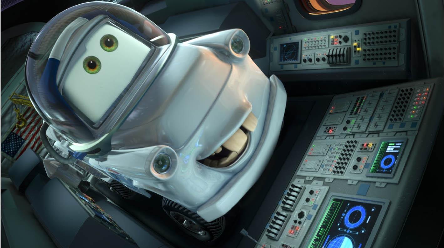 Pixar disney cars toon martin lunaire moon mater