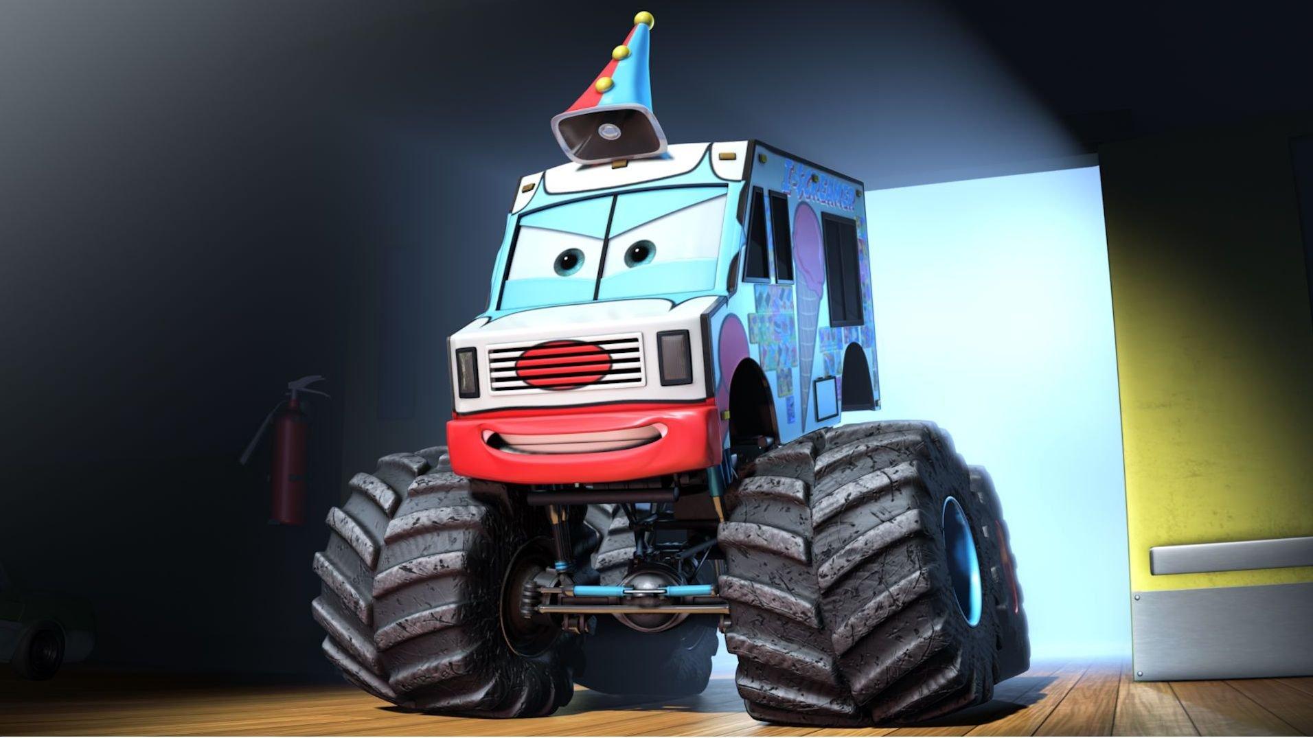 Pixar disney cars toon martin poids lourd monster truck mater