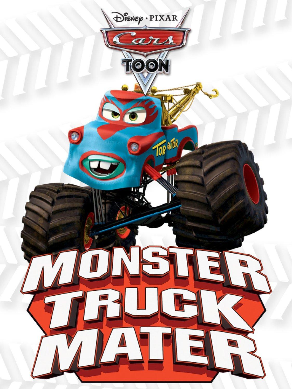 Pixar disney cars toon martin poids lourd monster truck mater affiche poster