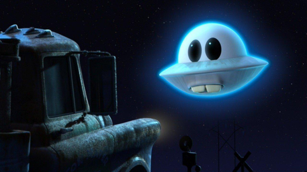 Pixar disney cars toon martin volant non identifié unidentified flying mater
