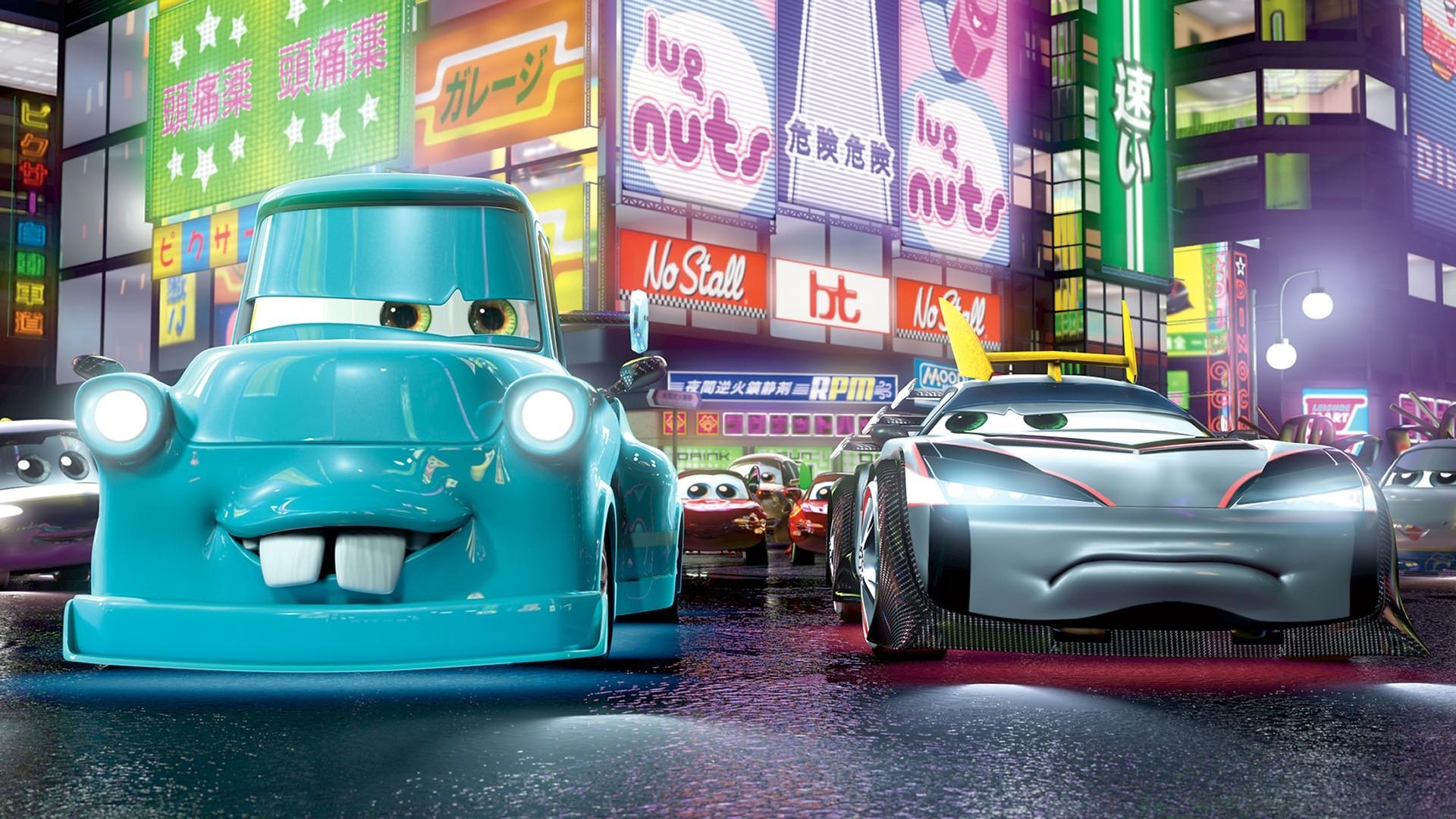 Pixar disney cars toon martin tokyo mater