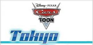 Pixar disney cars toon martin tokyo mater affiche poster