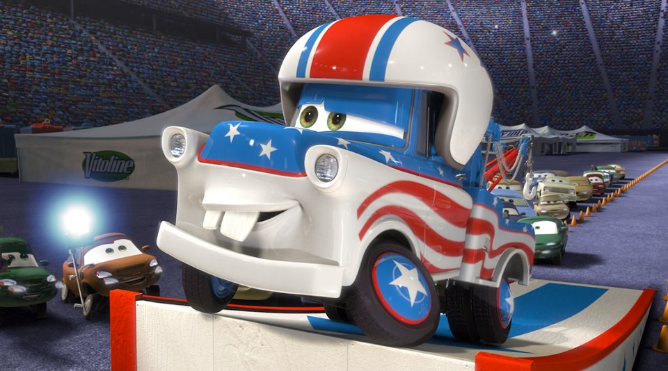 Pixar disney cars toon martin le grand mater greater