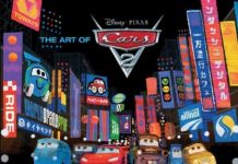 The art of Cars 2 Livre Disney Pixar Book