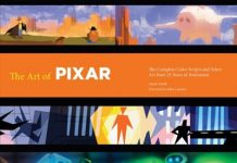 art of Livre Disney Pixar Book