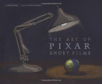 art of short Livre Disney Pixar Book