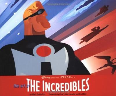 art of the incredibles Livre Disney Pixar Book