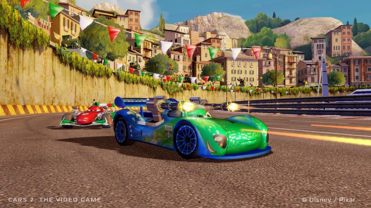 le jeu vid o cars 2 pixar planet fr. Black Bedroom Furniture Sets. Home Design Ideas