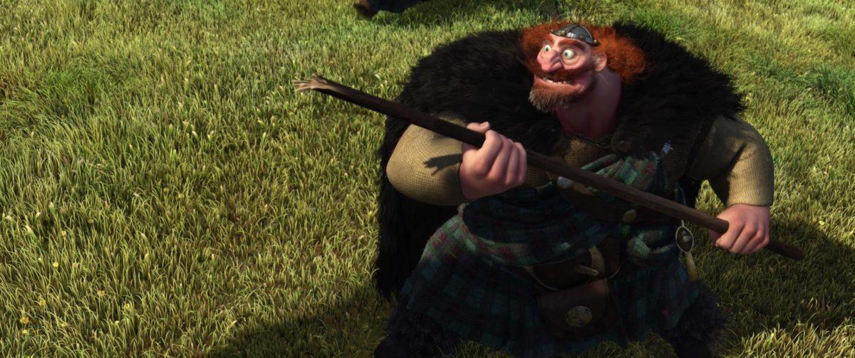 fergus personnage character rebelle brave disney pixar