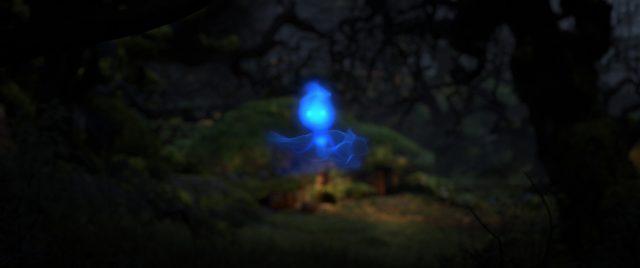feu follet wisp personnage character rebelle brave disney pixar