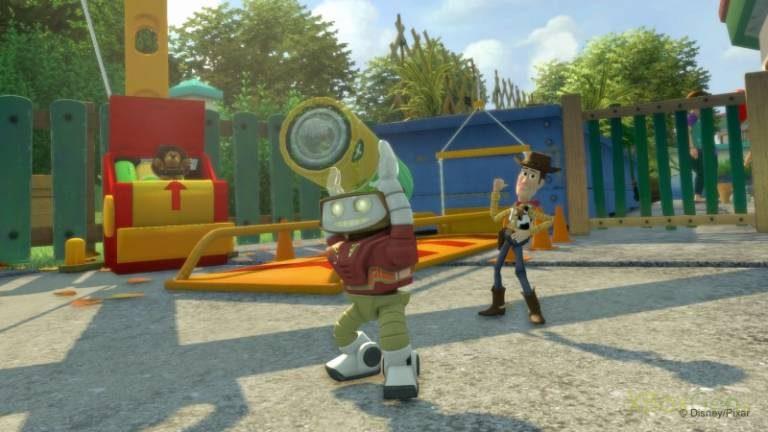 """Cinq nouvelles images de """"Kinect Héros""""."""