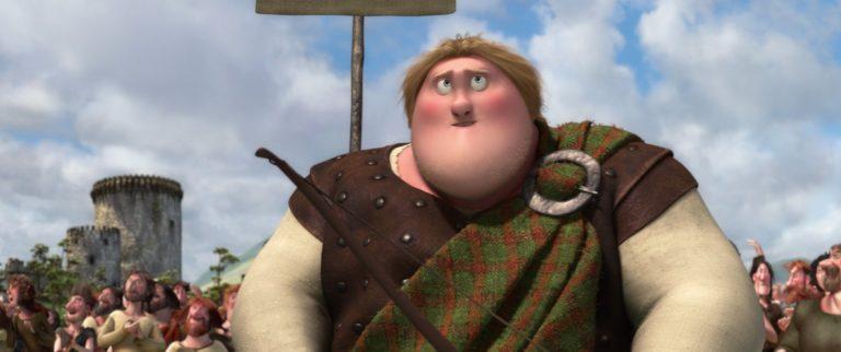 "Jeune McGuffin, personnage dans ""Rebelle""."