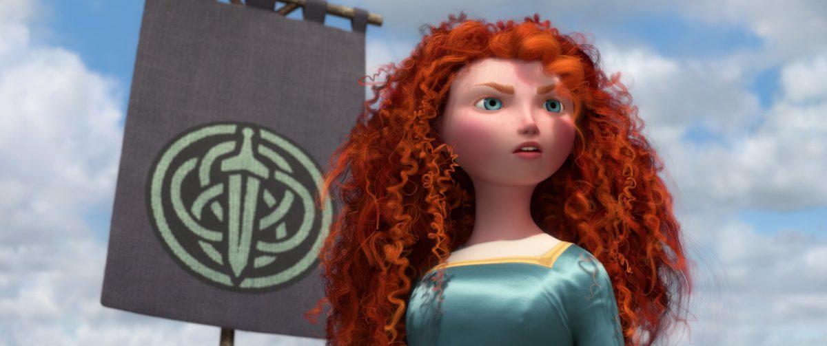 merida personnage character rebelle brave disney pixar
