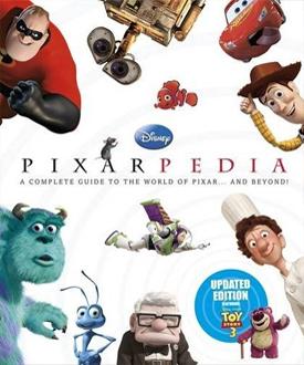 Le livre Pixarpedia 2010