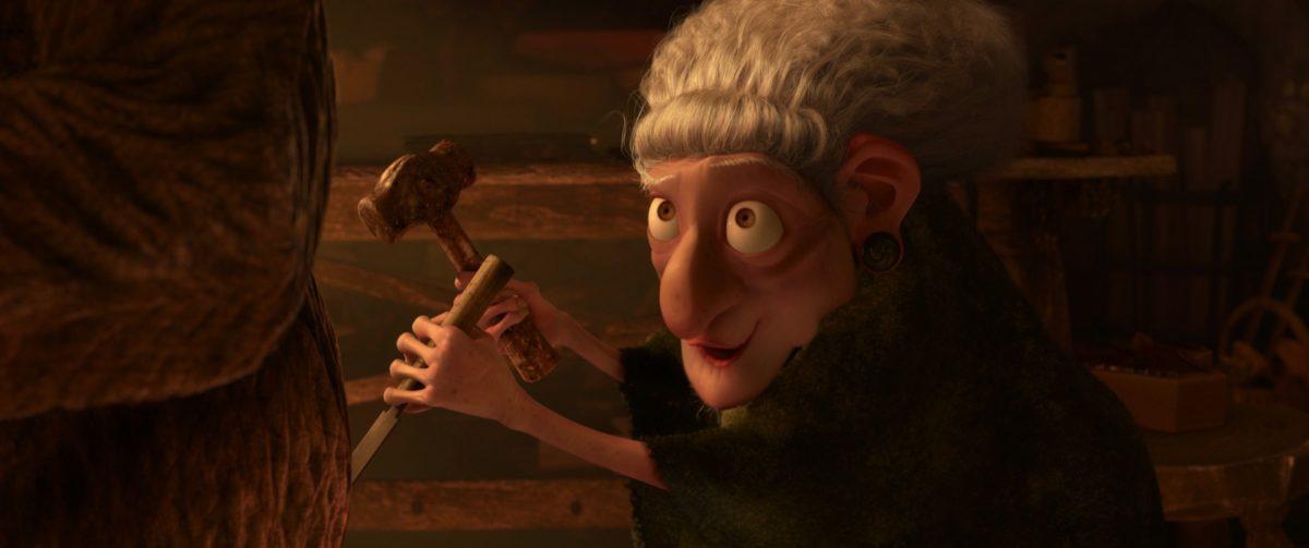 sorciere witch personnage character rebelle brave disney pixar