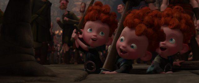 hubert hamish harris personnage character rebelle brave disney pixar