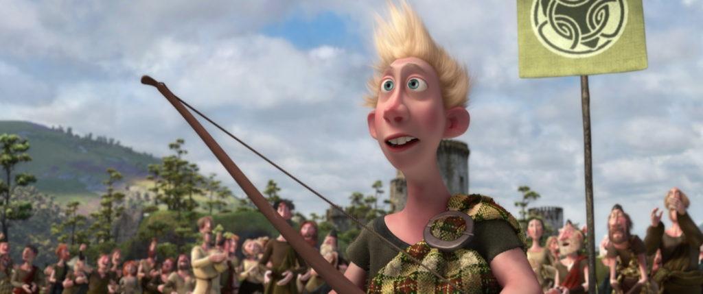 wee dingwall pixar disney character rebelle brave