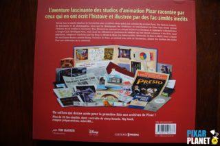 pixar treasures coulisses Livre Disney Pixar Book