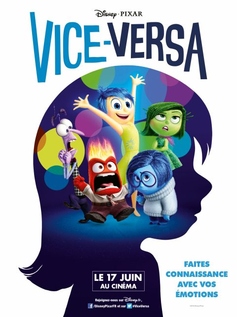 affiche poster vice versa inside out disney pixar