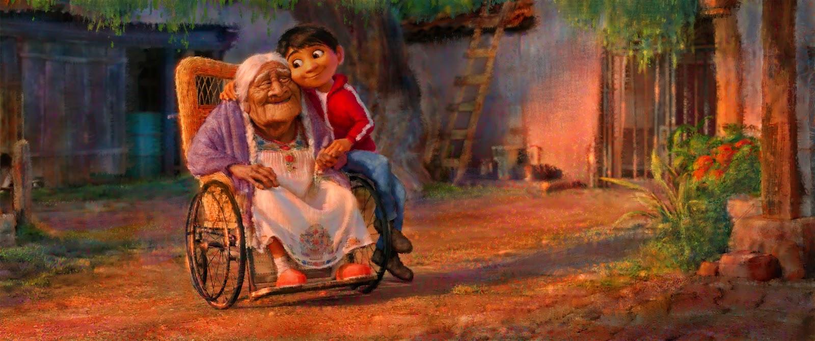artwork coco disney pixar