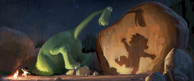 artwork voyage arlo good dinosaur disney pixar