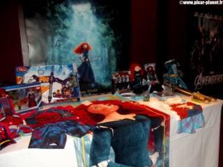 produits rebelle brave disney store pixar