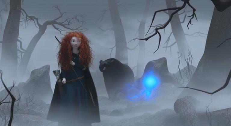 """Nouvelle image avec l'ours de """"Rebelle""""."""