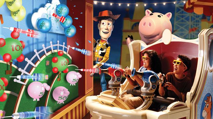 Toy Story Midway Mania à Disneyland Paris ?
