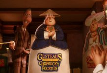 Pixar Disney Chef Gusteau's Frozen Foods