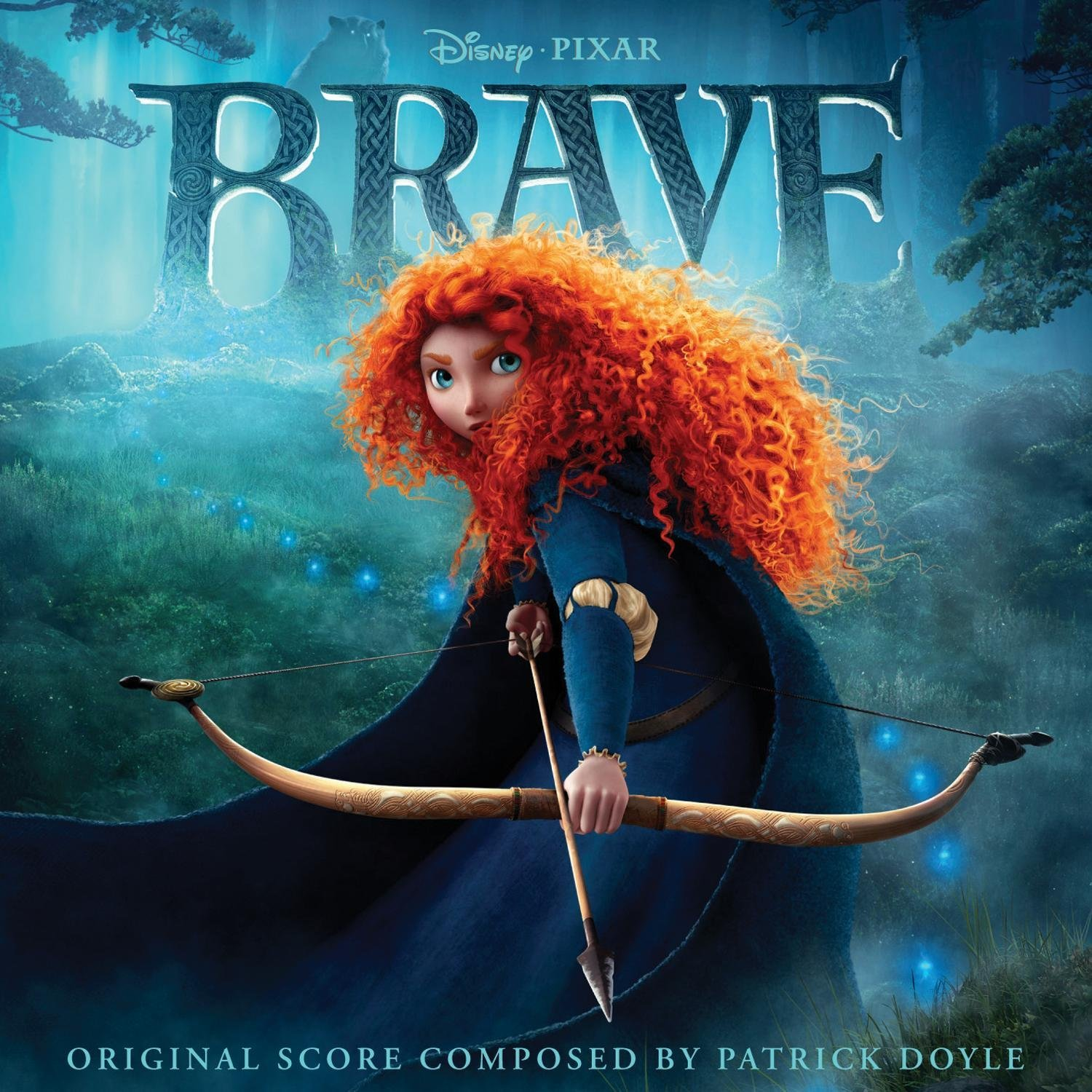 Pixar disney bande originale soundtrack rebelle brave