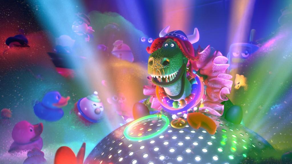 Pixar disney Toy Story Toons : rex le roi de le fête partysaurus