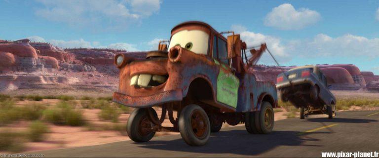 """Les répliques dans """"Cars 2""""."""