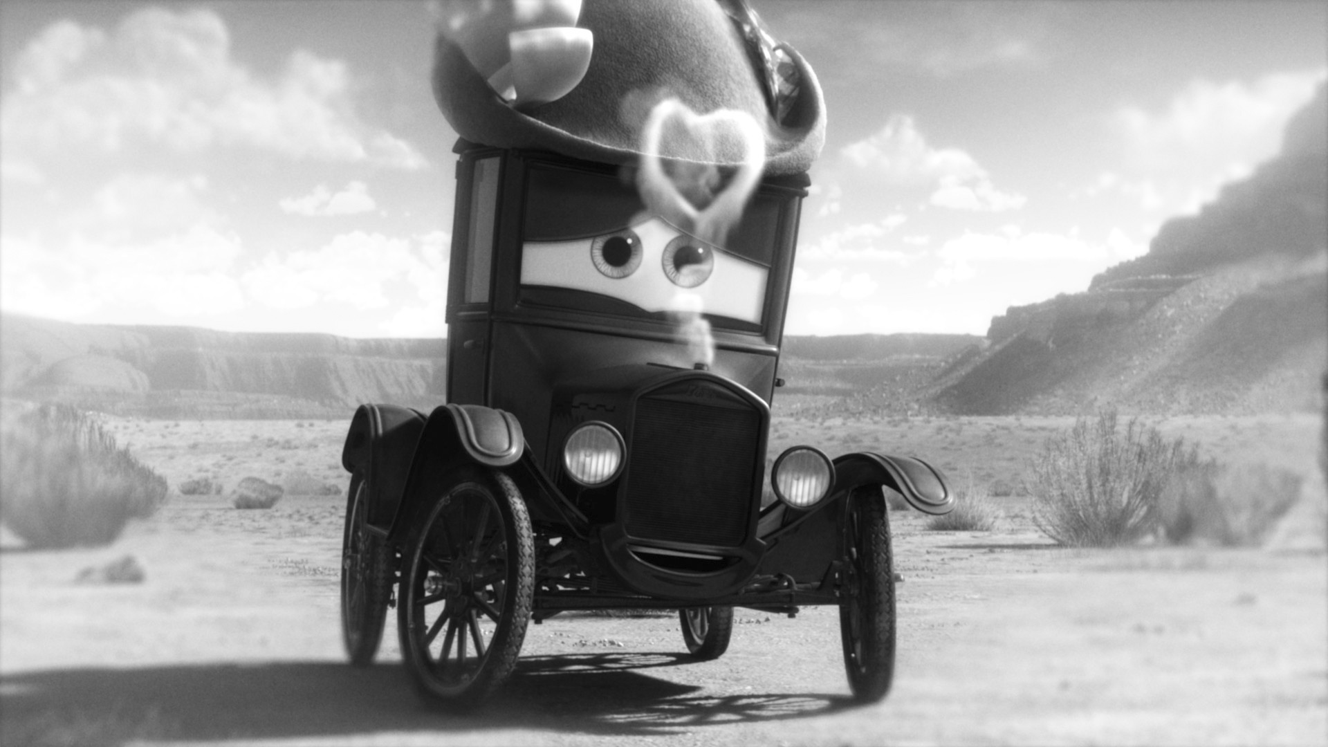 Pixar disney cars toon time travel mater martin remonte le temps