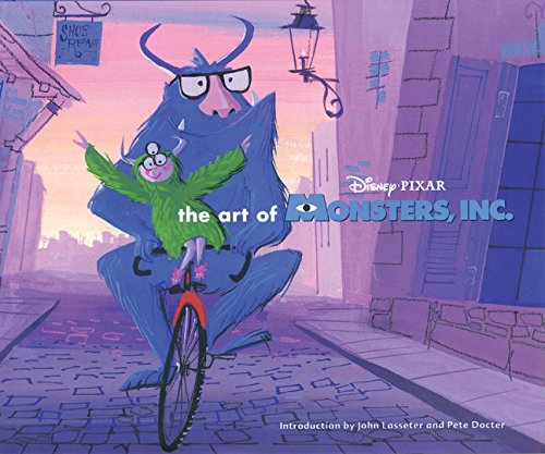art of monsters inc Livre Disney Pixar Book