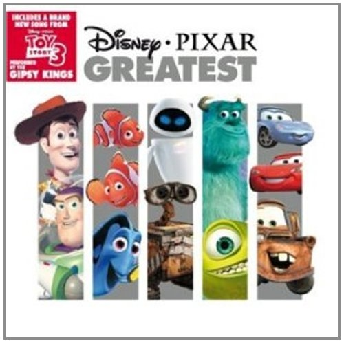 Pixar disney bande originale soundtrack  greatest compilation