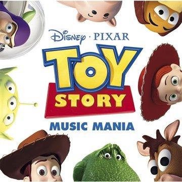 Pixar disney bande originale soundtrack toy story mania compilation