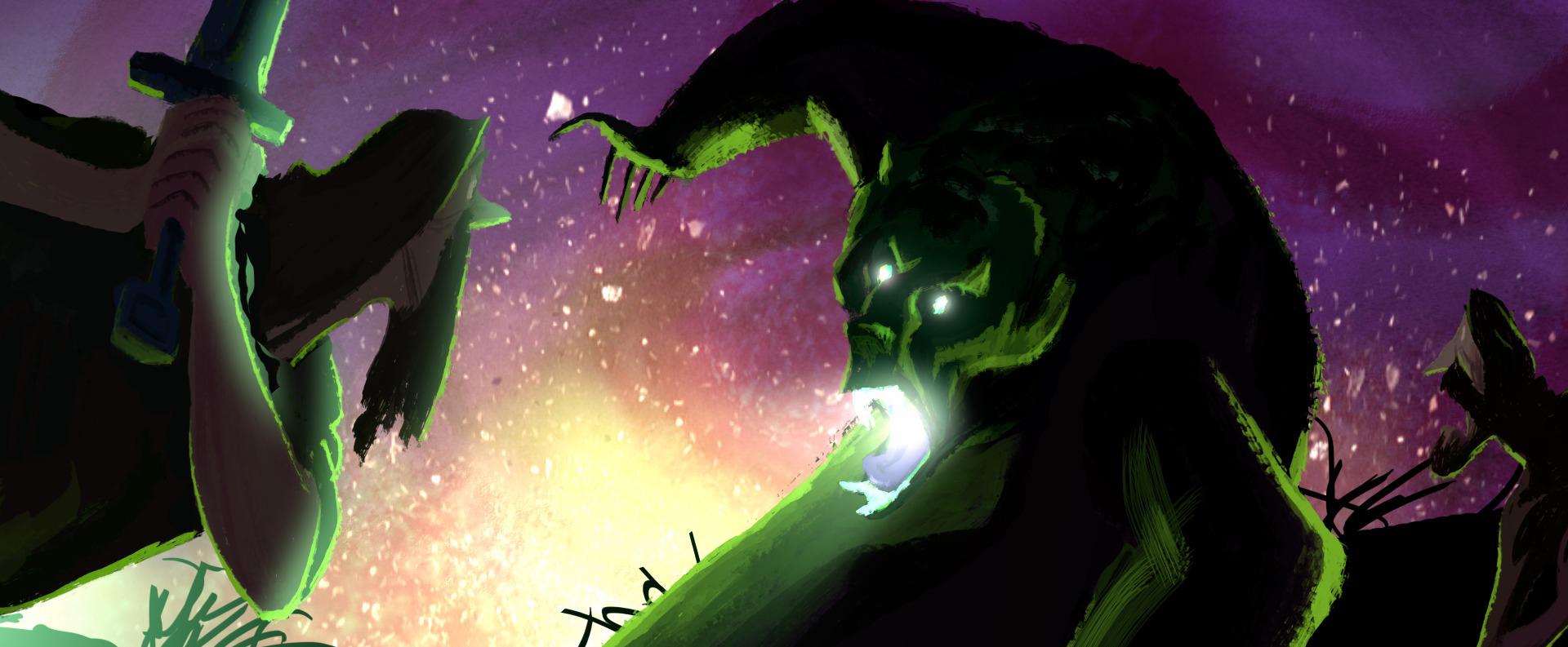 pixar disney artwork concept art légende legend mor'du