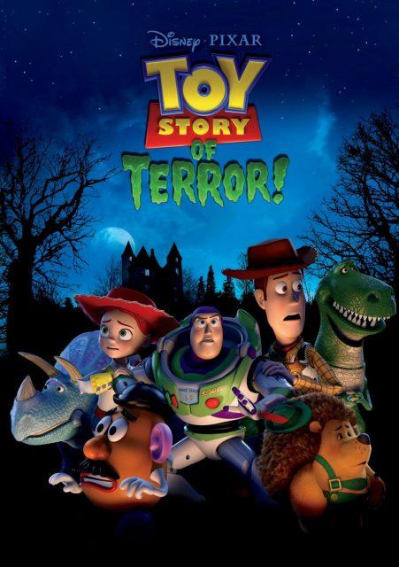 affiche poster toy story angoisse motel terror disney pixar