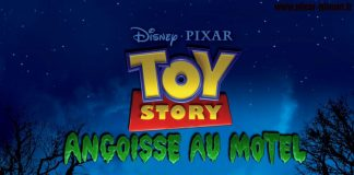 pixar disney toy story angoisse au motel of terror affiche poster