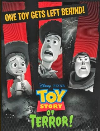 Affiches Poster Toy Story Angoisse au motel Of Terror Pixar Disney
