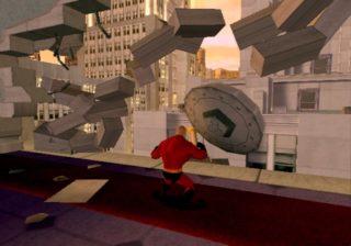 Les indestructibles Incredibles  Disney Pixar Jeu vidéo game