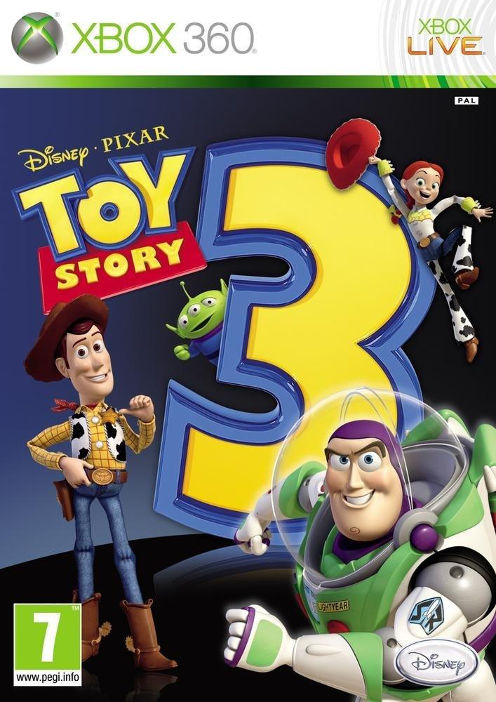 """Le jeu vidéo """"Toy Story 3""""."""