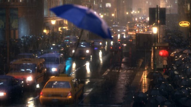 image parapluie bleu blue umbrella disney pixar